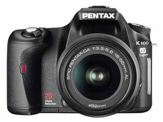 Pentax K100D Super + 18-55 mm
