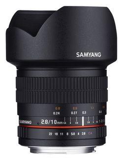 Samyang 10 mm f/2,8 ED AS NCS CS pro Nikon AE