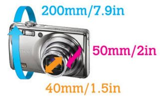 Aquapac 428 Small Camera Case with Hard Lens