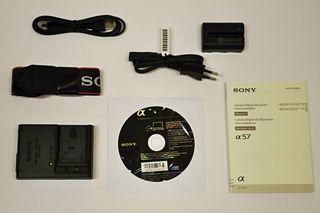 Sony Alpha A57 tělo