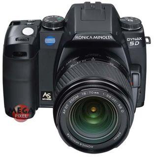 Konica Minolta Dynax 5D + AF 28-100 3,6-5,6 D