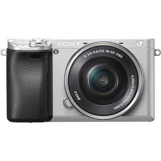 Sony Alpha A6300 + 16-50 mm stříbrný + stabilizátor + monitor - VIDEO POKROČILÍ