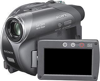 Sony DCR-DVD205 CLIP