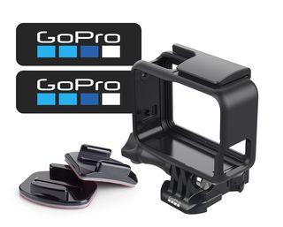 GoPro Frame+ lepítka (1ks rovné, 1ks zakřivené) + samolepky