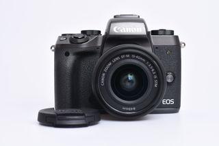 Canon EOS M5 + 15-45 mm STM černý bazar