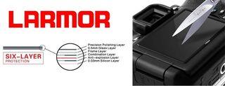 Larmor ochranné sklo na displej pro Sony A7(R) II / A7S II / A7(R) III / A9