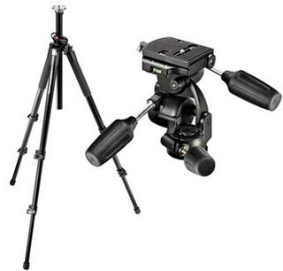 Manfrotto 055XPROB + 808RC4