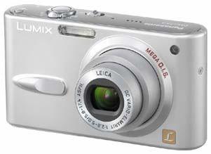 Panasonic DMC-FX3 stříbrný
