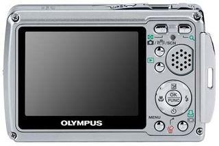 Olympus Mju 725 SW stříbrný