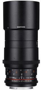 Samyang CINE 100 mm T/3,1 VDSLR pro Canon