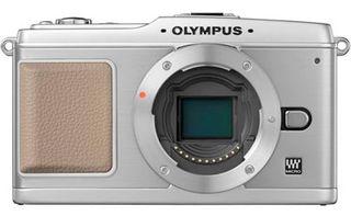 Olympus E-P1 bílý tělo