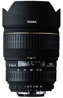 Sigma 15-30 mm F 3,5-4,5 EX DG ASPHERICAL IF pro Canon