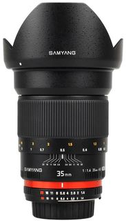 Samyang 35 mm f/1,4 pro Sony E