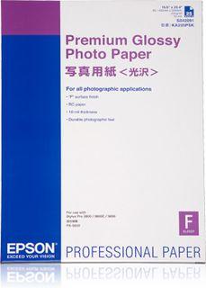 Epson Premium Glossy Photo Paper A2, 25 listů