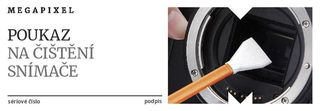 Poukaz na čištění snímacího čipu Sony FF zdarma!