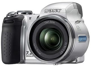 Sony DSC-H5 stříbrná