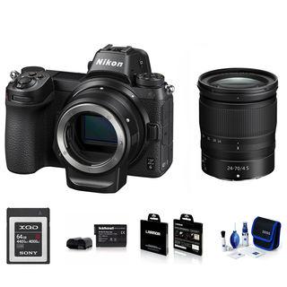 Nikon Z6 + 24-70 mm + FTZ adaptér - Foto kit