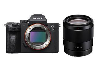 Sony Alpha A7 III +  FE 35 mm f/1,8