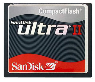 SanDisk 4GB  CF ULTRA II