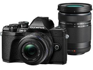 Olympus OM-D E-M10 Mark III + 14-42 mm II R + 40-150 mm R černý