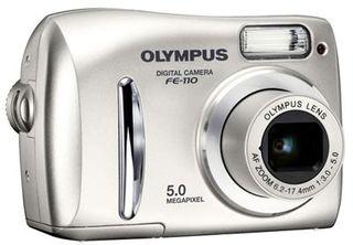 Olympus FE-110 + xD 256MB karta