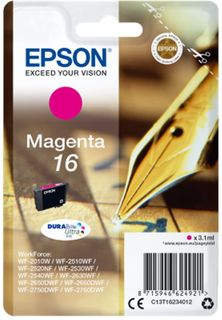 Epson Singlepack T16234012 Magenta 16 DURABrite - purpurová