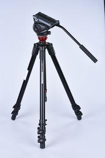 Manfrotto 755XBK + MVH500AH + pouzdro bazar