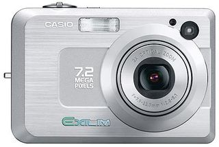 Casio EXILIM - Z750 stříbrný
