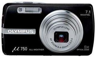 Olympus Mju 750 černý