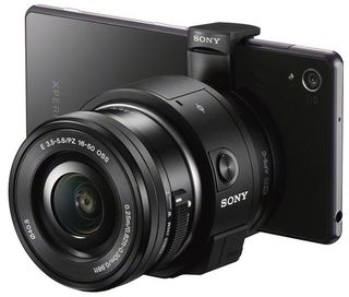 Sony ILCE-QX1 tělo