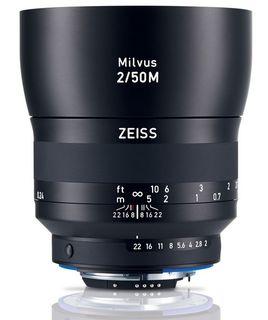 Zeiss Milvus 50 mm f/2 M ZF.2 pro Nikon