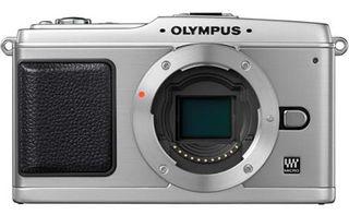 Olympus E-P1 stříbrný tělo