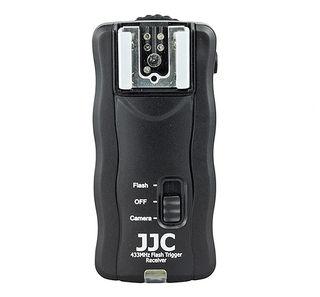 JJC bezdrátová dálková spoušť a odpalovač blesků JF-U1
