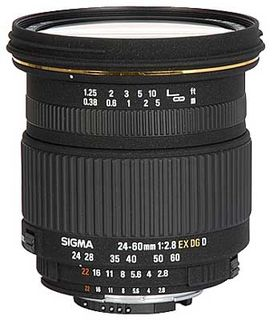 Sigma 24-60 mm F 2,8 EX DG IF pro Nikon + utěrka Sigma zdarma!