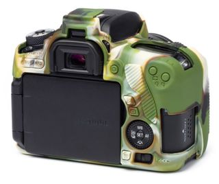 EasyCover silikonové pouzdro pro Canon EOS 760D kamufláž