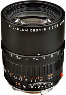 Leica 75 mm f/2,0 ASPH APO-SUMMICRON-M