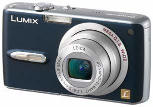 Panasonic DMC-FX07 modrý