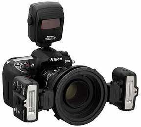 Nikon makro zábleskový kit SB-R1C1