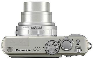 Panasonic DMC-LX1 stříbrný