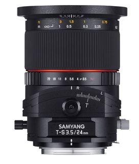 Samyang T-S 24 mm f/3,5 ED AS UMC pro Sony E