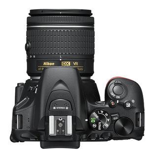 Nikon D5600 + 18-55 mm AF-P VR černý - Video kit