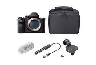 Sony Alpha A7S II + XLR-K2M kit pro XLR mikrofony