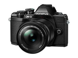 Olympus OM-D E-M10 Mark III + 14-42 mm EZ + 40-150 mm R stříbrný - Zánovní!