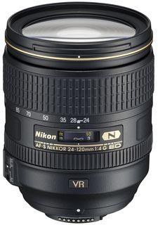 Nikon 24-120 mm f/4,0 AF-S ED VR