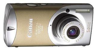 Canon Digital IXUS i Zoom zlatá