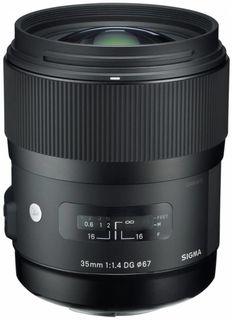 Sigma 35 mm f/1,4 DG HSM Art pro Canon