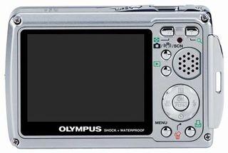 Olympus Mju 720 SW růžový