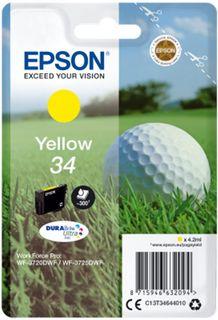 Epson Singlepack T34644010 Yellow 34 DURABrite - žlutá