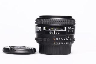 Nikon 50 mm F1,4 AF NIKKOR D A bazar