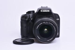 Canon EOS 1000D + EF-S 18-55 mm DC bazar